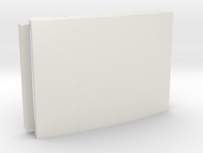Custom Belt Buckle - Plastic (customizable) in White Natural Versatile Plastic