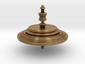 Ring Top in Natural Brass