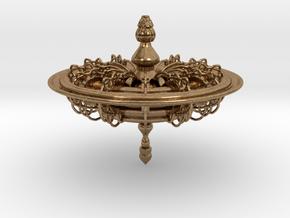 Intricate Top in Natural Brass