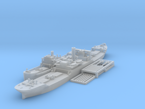 1/1800 EFC Freighters 1020 'Laker'and 1013 in Smooth Fine Detail Plastic