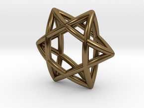 Star 3d Assy Final Sw0002 in Polished Bronze