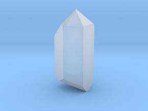 "Crystal (for 1.24"" Crystal Chamber) in Smoothest Fine Detail Plastic"
