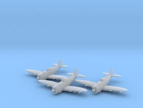 Republic P-47 'Thunderbolt' Bubbletop 1:200 x3 FUD in Smooth Fine Detail Plastic