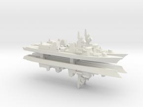 Takanami-class destroyer x 4, 1/2400 in White Natural Versatile Plastic