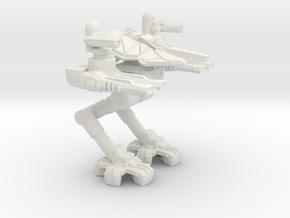 MECHA- OBLITORATOR (Strong&Flexible Plastic) in White Strong & Flexible