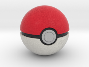 Poké Ball in Full Color Sandstone