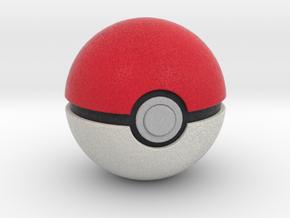 Poké Ball in Full Color Sandstone