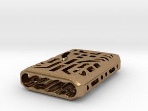 Digital Lantern X5: Tritium (all Materials) in Natural Brass