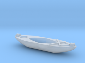Kayak Ornament in Smooth Fine Detail Plastic