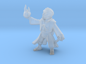 Halfling Wizard in Smooth Fine Detail Plastic