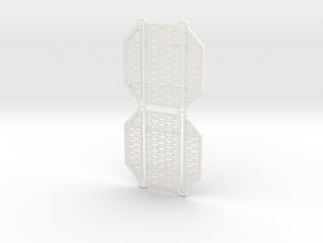 DeAgo Falcon Hold Floor multiple piece Pit Cover in White Processed Versatile Plastic