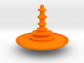Fierce Spinner in Orange Processed Versatile Plastic