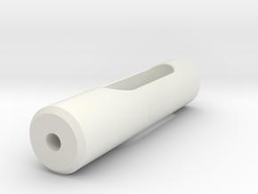 Rod in White Natural Versatile Plastic