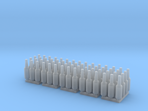 Beer Bottle LongNeck 330ml- 1:24 60ea in Smooth Fine Detail Plastic