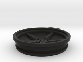 Vossen VWS3 30oz Yeti Cup Lid Sealed in Black Natural Versatile Plastic
