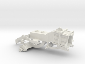 1/64 Modern Baler Lower Body in White Natural Versatile Plastic