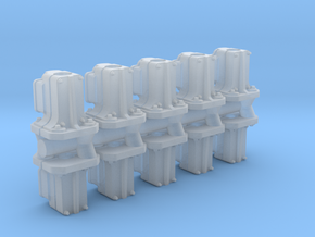 Safetran Signal Post Base (N - 1:160) 10X in Smoothest Fine Detail Plastic