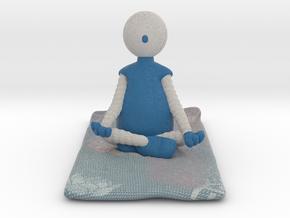 Yoga Pose 2 - 1019N in Full Color Sandstone