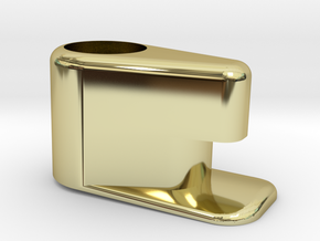 Windowlatch2stl in 18k Gold