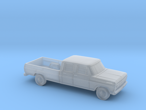1/87 1967-69 Ford F-Series Crew Cab in Smooth Fine Detail Plastic