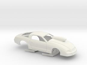 1/8 2013 Pro Stock Mustang in White Natural Versatile Plastic