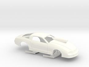 1/32 2013 Pro Stock Mustang in White Processed Versatile Plastic