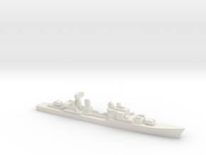 Friesland-class destroyer, 1/2400 in White Natural Versatile Plastic