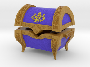 """TP"" Treasure Chest (Medium) in Full Color Sandstone"