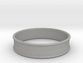 1 31/32 Inch (50mm) 2x Flare Ear Tunnel (single) in Aluminum