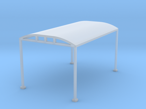 Carport 1-87 HO Scale  in Smooth Fine Detail Plastic