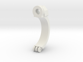 Clamp Ring 2v2 in White Strong & Flexible