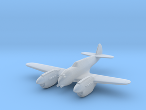 Curtiss P-40 Twin (Proposed) 1:285 x1 FUD in Smooth Fine Detail Plastic