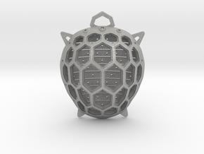 Turtle pendant in Aluminum