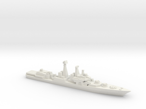 Udaloy I-class destroyer, 1/2400 in White Natural Versatile Plastic