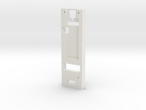 DNA75 DNA200 DNA250 - Mounting Plate in White Natural Versatile Plastic