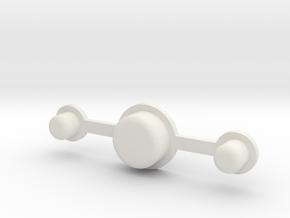 DNA75 DNA200 DNA250 v1/v3 Faceplate button set in White Strong & Flexible