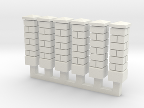 NvML24 Traditional walls kit in White Natural Versatile Plastic