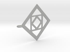 Simple Necklace in Aluminum