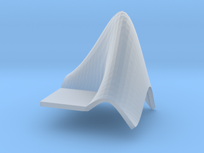 L-Shaped Membrane in Smooth Fine Detail Plastic