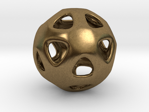 Conway Polyhedron {lseehI} in Natural Bronze
