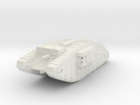1/144 Mk.IV Female tank in White Strong & Flexible