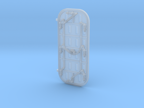 1/45 Scale ship door in Smooth Fine Detail Plastic
