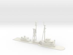 1/500 Scale DLG-10 Deck  in White Natural Versatile Plastic