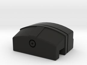 Licence plate light LED housing D90 D110 Gelande 1 in Black Natural Versatile Plastic