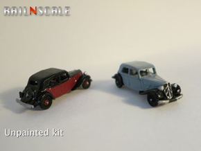 Citroën Traction Avant SET (N 1:160) in Frosted Ultra Detail