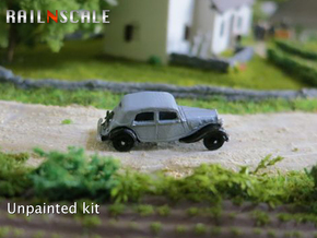 Citroën Traction Avant (N 1:160) in Smooth Fine Detail Plastic