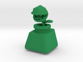 Topre Piranha Plant Keycap in Green Processed Versatile Plastic