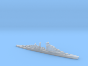 HNLMS De Ruyter (1953), 1/6000 in Smooth Fine Detail Plastic