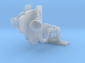 1:72 scale Refuel - Wall Flush in Smooth Fine Detail Plastic