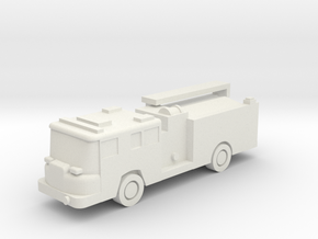 1:285 Pierce Quantum Engine in White Natural Versatile Plastic: 6mm